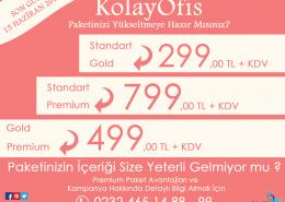 KolayOfis Paket Yükseltme Kampanyası