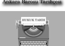 Ankara Barosu Tarihçesi
