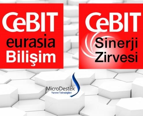 Cebit Eurasia 2014 Fuarı - MicroDestek