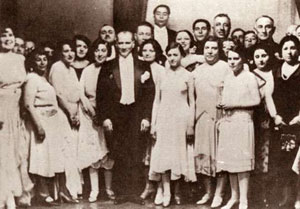Süreyya Ağaoğlu ve Mustafa Kemal Atatürk