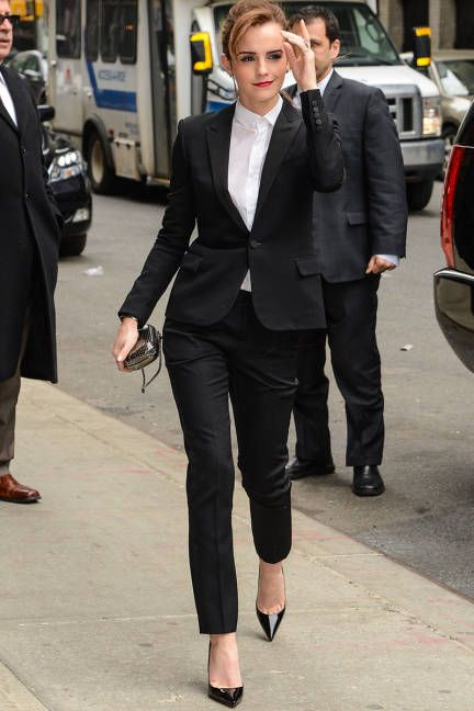 Emma Watson Smart Casual