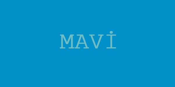 Avukatlık Bürosu Renk Seçimi - Mavi