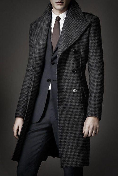 Erkek Avukat Modası - Koyu Renkler