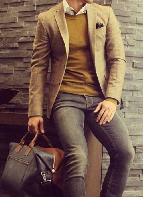 Erkek Avukat Modası - Smart Casual
