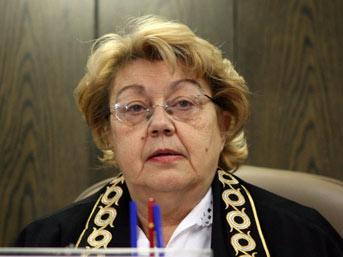 Anayasa Mahkemesi İlk ve Tek Kadın Başkanı