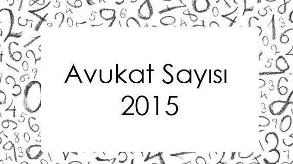 Avukat Sayısı 2015-4