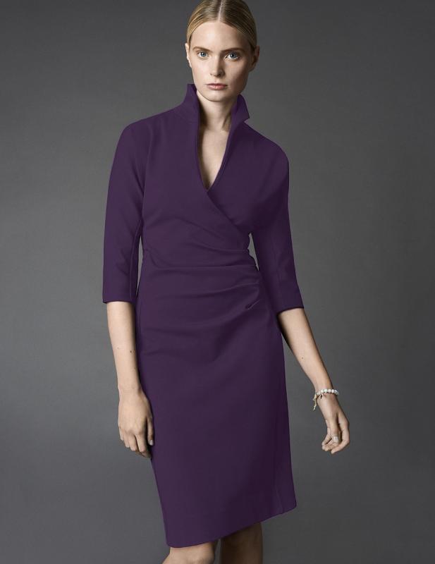 Kadın Avukat Modası 2018 - İhtişam ve Lüksün Rengi Mor