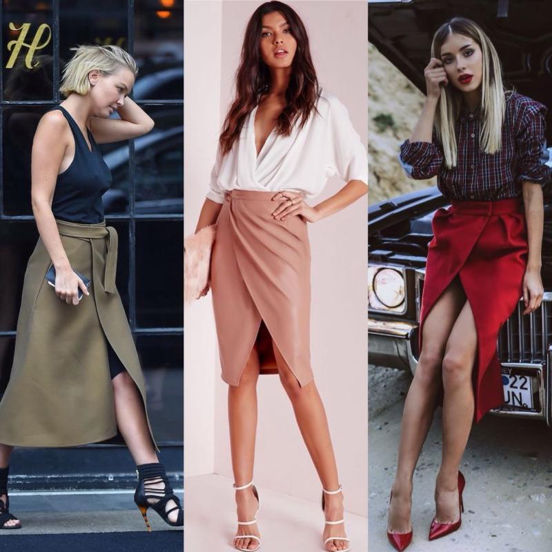 Kadın Avukat Modası 2018 - Anvelop Etek