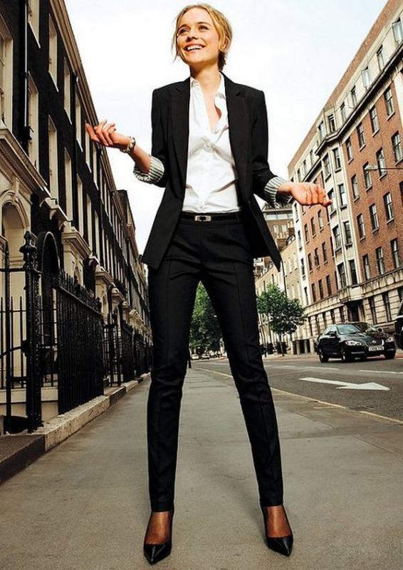 Kadın Avukat Modası 2018 - Takım Elbise