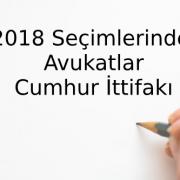 2018 Seçimlerinde Avukatlar - 3