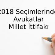 2018 Seçimlerinde Avukatlar Millet İttifakı -4