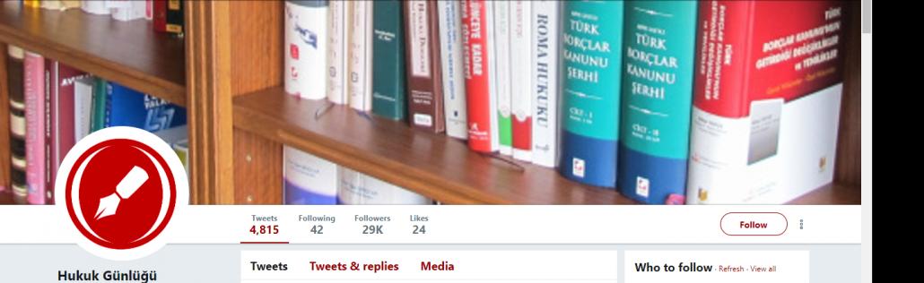 Avukatlar için Önerilen 7 Twitter Hesabı -4
