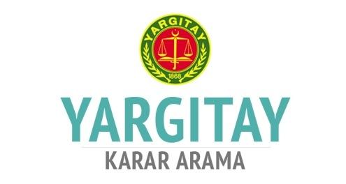 Yargıtay Kararları Erişime Açıldı -1