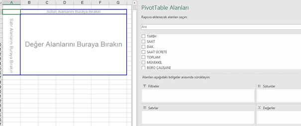 Excel Pivot Rapor - 4