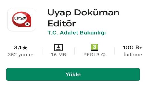 Uyap Doküman Editör